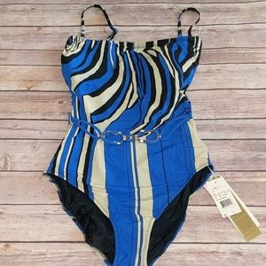 NWT gottex bathing suit, Size 12, one piece